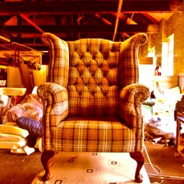 Chair 3 Orange